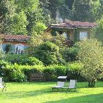 Hotel and garden