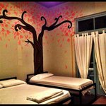 Incredible tree mural in my room!