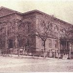Exterior, Historic City Hall and original entrance to Thalian Hall, circa 1898.