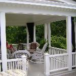 Sunporch with Wicker furniture