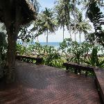 Terrasse de la villa Ma Kam