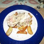 Main course - Chicken Supreme