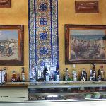 Tapas Bar with typical azulejos