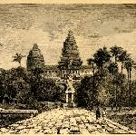 Angkor Wat in the past time