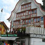Village d'Appenzell(AI)...plein de charme et haut en couleurs