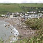 Beach and Park viewed from the East/Bigbury