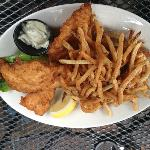 Fish and Chips -Two Large Filets