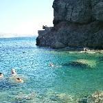 swimming grotto