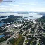 Kodiak City on a nice summer day from above!