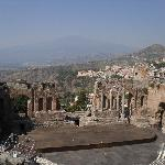 Etna from Greek Theatre