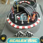 Scalectrix Cake