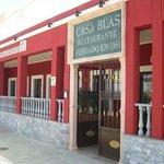 Fachada Restaurante Casa Blas