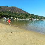 playa desde la posada