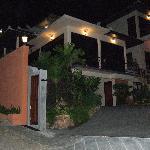 L'entrée du ghest house
