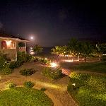 Nightime at Los Porticos Villas