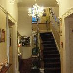 hallway & wee bar