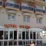 Definitely the Hotel Silvia!