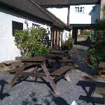 The Unicorn Inn Sun Terrace