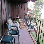 Balcony Overlooking Lake Superior