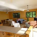 The living area -spacious and comfortable