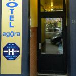 Agora Hotel Entrance Door