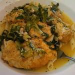 Chicken - Artichoke French, with escarole