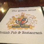 Queen Anne British Pub MENU