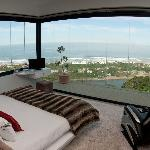 View from white room bed! Awesome!!!