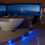 White room bath view!