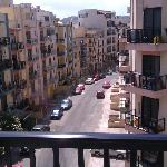 Vista desde nuestra habitación