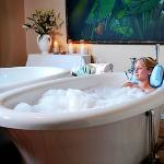 Relaxing bath treatment for one or two