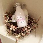 Spa Quality Amenities by Archive Come in a Bird's Nest!