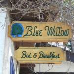 Blue Willow Signage