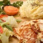 Grilled chicken plate / plato de pollo a la parrilla