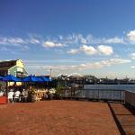 pier about 10 mins walk