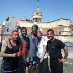 Holi with Danish guests