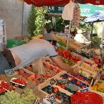 The market in Sur la Sorgue