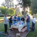 Outdoor Breakfast at Aspen Inn