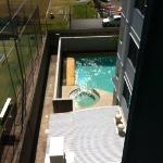 View from room 402
