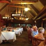 one of the upstairs dining rooms