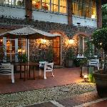 Our garden oasis. Highly recommended for a private event or just a pre-dinner glass of prosecco.