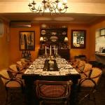 Intimate chef's table - perfect for celebrating a special occasion!