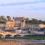 Vue générale du château royal d'Amboise. Photo L. de Serres