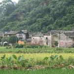 Village where the hotel is located