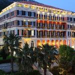 Hilton Imperial Dubrovnik night exterior
