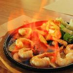 Shrimp Flambee