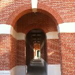 Archway on the ground