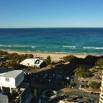 View from our ocean view 2 bedroom suite