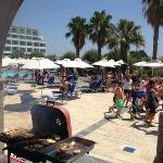 barbeque at the main pool