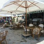 Street level restaurant